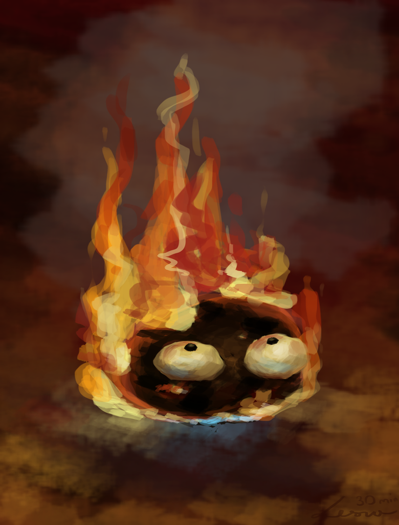 I'm burning, right? by LeszkaKsawery