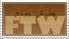 Team Jacob FTW - Stamp by xBloodRedRainx