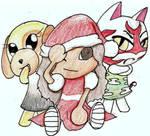 My Animal Crossing Christmas