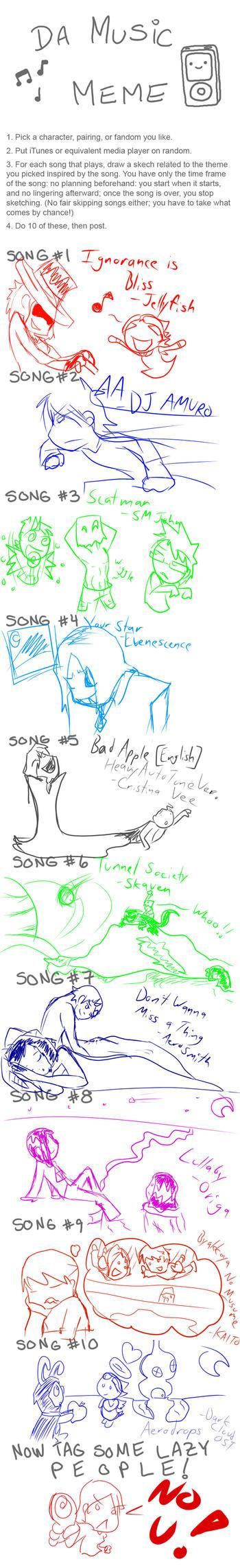 Music Meme by Seliex by Seliex