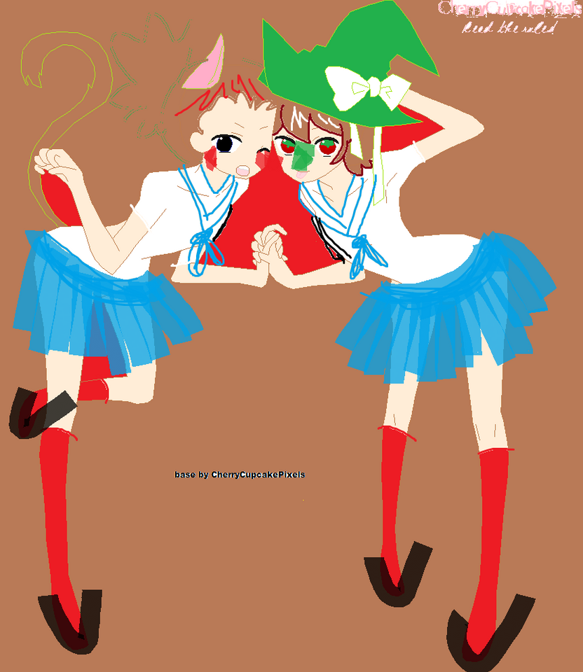 Base 35    By Cherrycupcakepixels-d31s0xo by NekoDennisKun