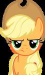Applejack is not amused