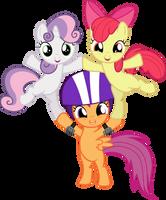 Ponyville forever YAY!!! by GameMasterLuna