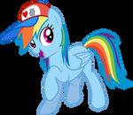 Rainbow Dash (I Love Manehattan edition)