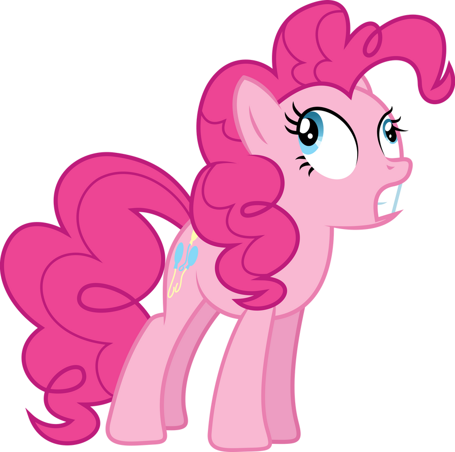 Derp Pinkie by GameMasterLuna