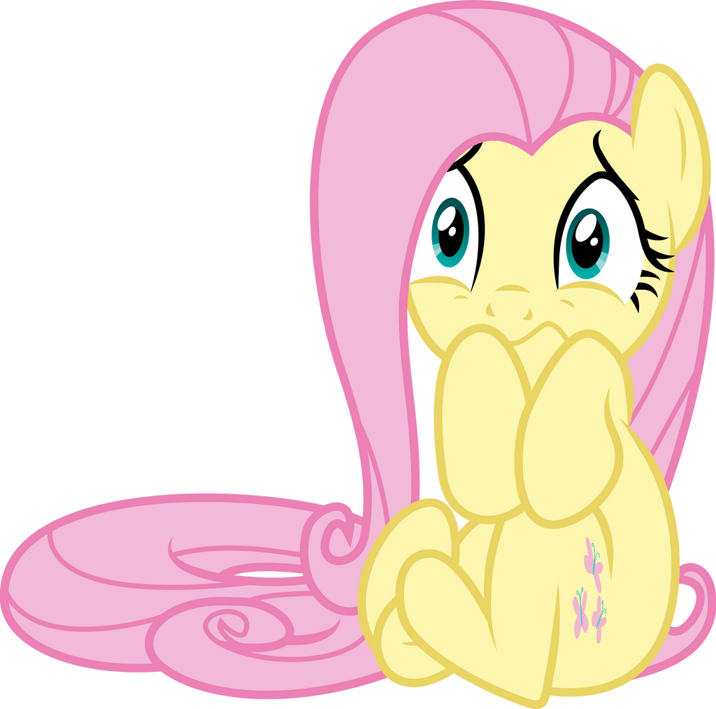 Scared Fluttershy by GameMasterLuna on DeviantArt