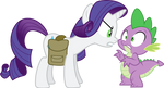 You dun goofed, Spike by GameMasterLuna