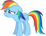 A Heartbroken Rainbow Dash
