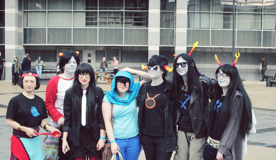 Homestucks at Thought Bubble 2012 by Meeleb2