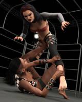 Fight! - Ursula vs Landell - 10 by CrazyStupot