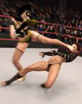 fight! - Octavia Vs Kasmin - 29
