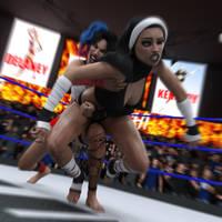 fight! - Kennedey vs Delaney - 18 by CrazyStupot