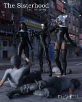 fight! - The Sisterhood by CrazyStupot
