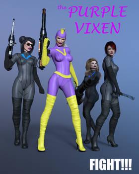 fight! - Purple Vixen