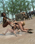 Fight! - Stack em high, Bury em deep - 50 by CrazyStupot