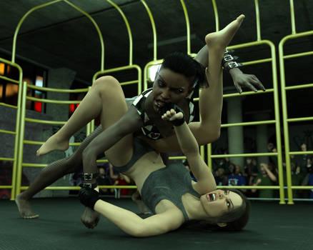 FIGHT!! - Landell Vs Sara - 14