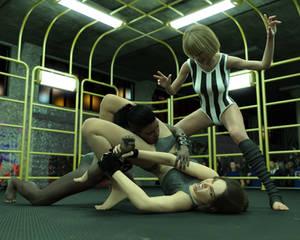 FIGHT!! - Landell Vs Sara - 15