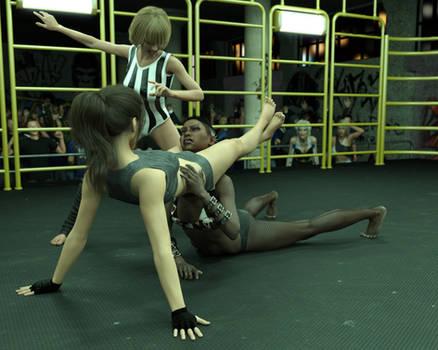 FIGHT!! - Landell Vs Sara - 16