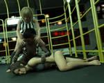 FIGHT!! - Landell Vs Sara - 37