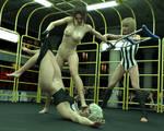 FIGHT!! - Landell Vs Sara - 53 by CrazyStupot