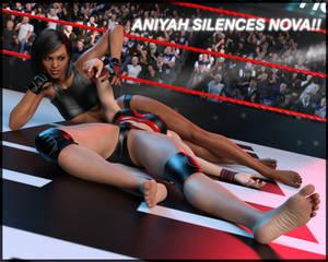 FIGHT!! - Aniyah SILENCES Nova!!