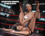 FIGHT!! - Sylvie puts Jennifer in her place!! by CrazyStupot