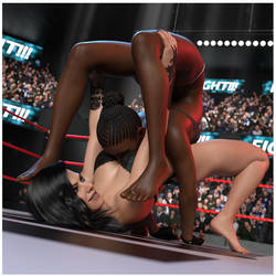 FIGHT!! - Lucia Dismantles Shangra!!