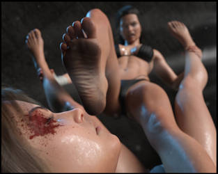 SUFFER!! - Breanne Finishes Tania!! by CrazyStupot