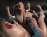 SUFFER!! - Breanne Finishes Tania!!
