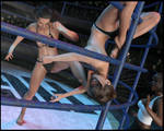 SUFFER!! - Breanne makes Tania SUFFER!! by CrazyStupot