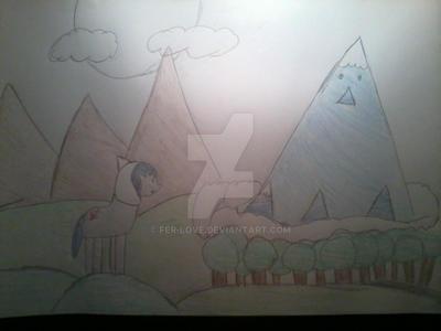 Dibujo 2 para el concurso de :iconmalengil: by fer-love