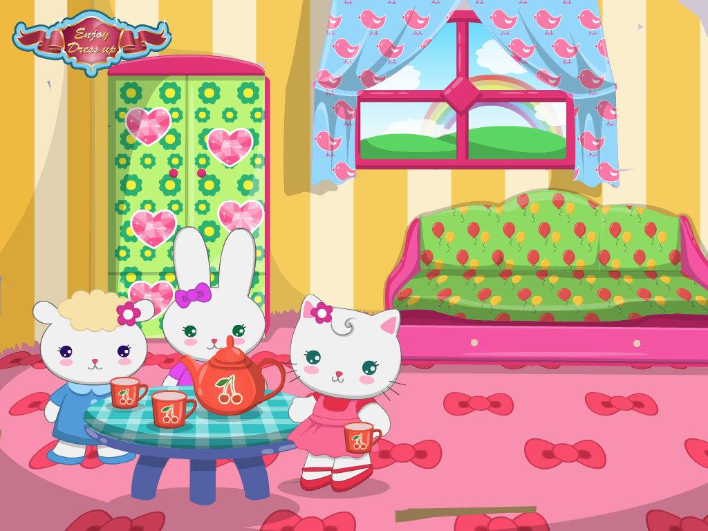 Hello Kitty Tea Time By Aloynna On DeviantArt