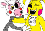 Toy Chica Tummy Tickle