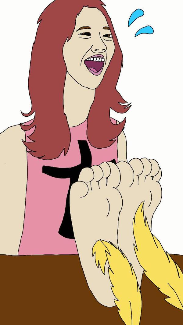 Yoona's Ticklish Feet by aloynna