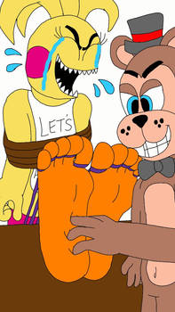 Toy Freddy Tickles Toy Chica