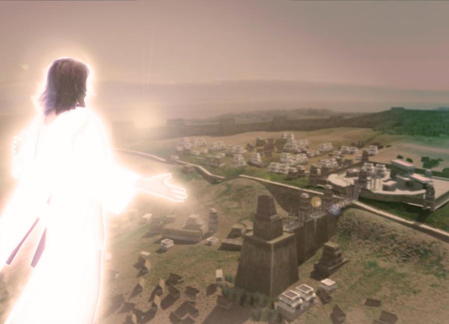 Savior over Bountiful: collab by greeni-studio