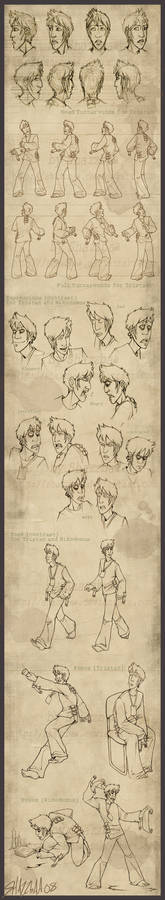 Tristan - Character Design