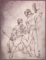 Commission - Kingdom Come by Shazzbaa