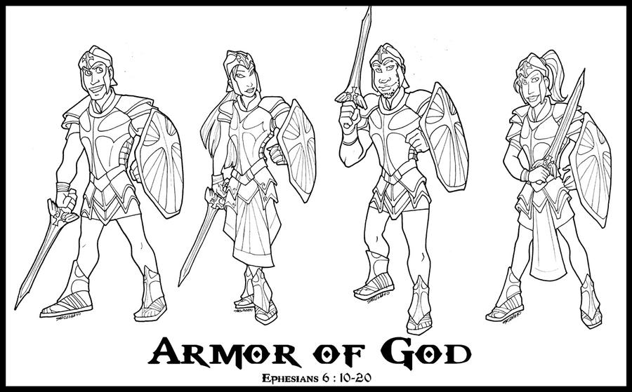 Shield Of Armor Coloring Pages Coloring Pages Armor Of God Coloring Pages