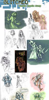 GLITCHED concepts (tumblr collection)
