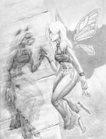 Faerie Wolf by Shazzbaa