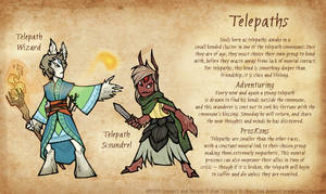 WINDD Race Concepts - Telepath