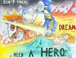 Art I -- Lyrics Painting by Shazzbaa