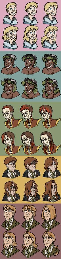 Character Hair Meme