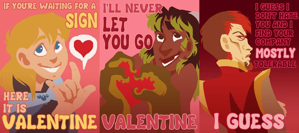 Happy Valentine's from Runewriters by Shazzbaa