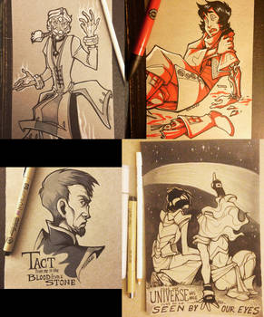 Some Inktobers Part 1