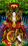 Queen of Pentacles - Revised