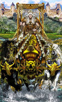 The Chariot Card by Elric2012