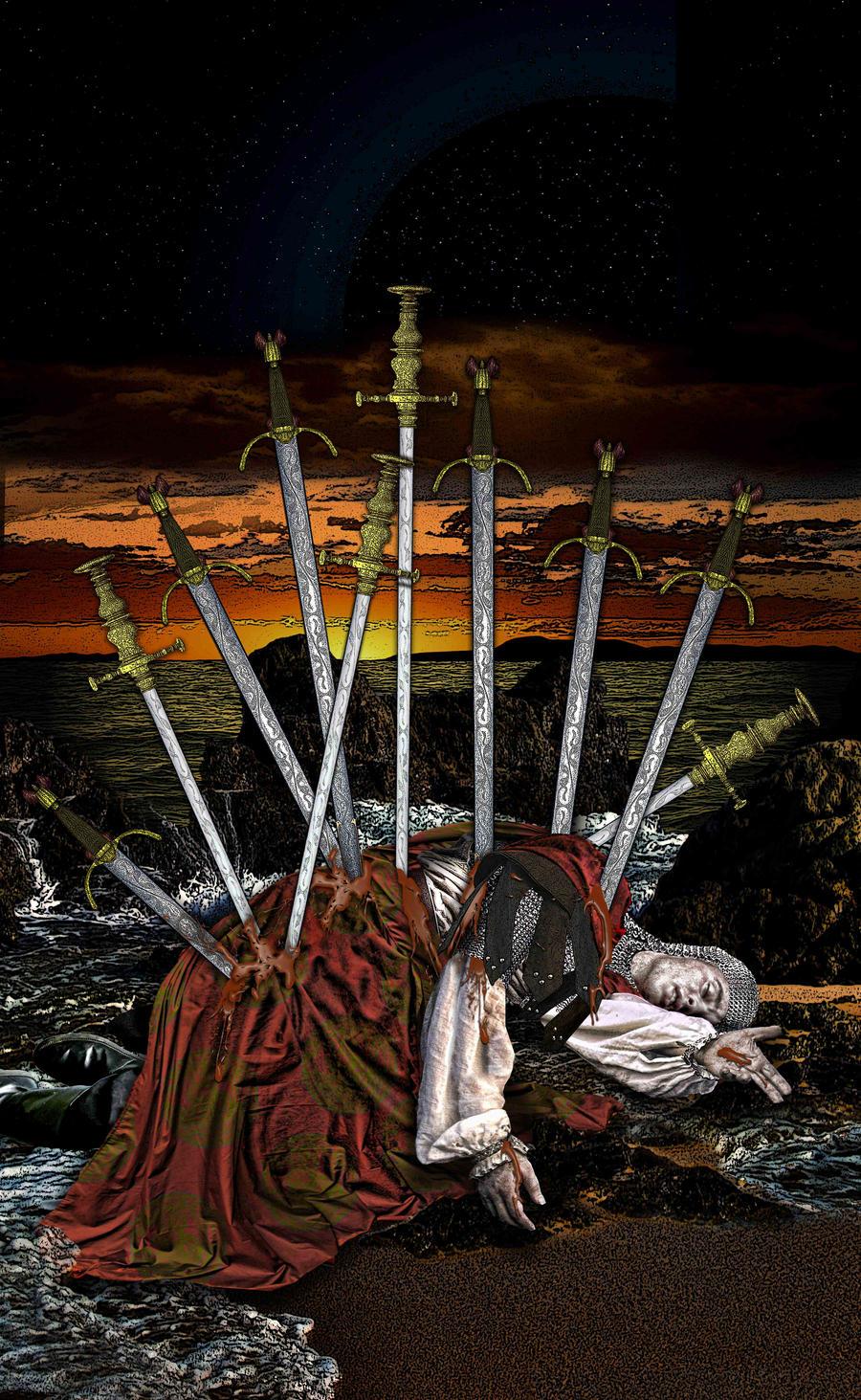 Ten of Swords by Elric2012