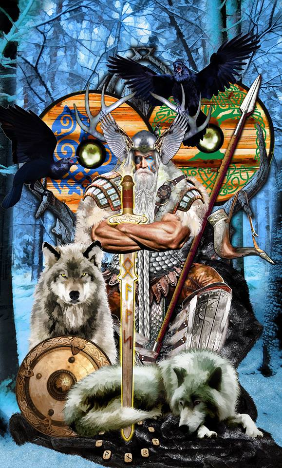 Odin     King of Swords  TAROT APOKALYPSIS by Elric2012